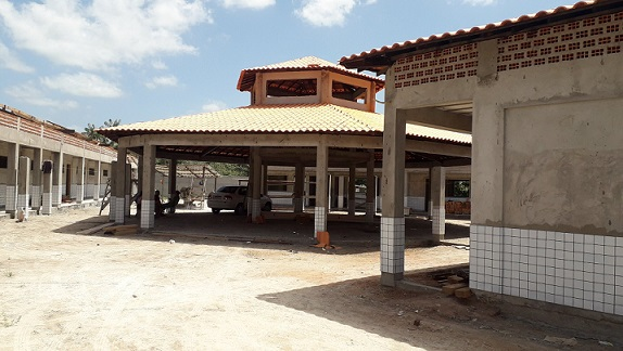 Obras em Boa Vista do Gurupi sendo concluídas
